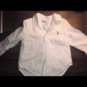 Ralph Lauren 18m Boys Button Down